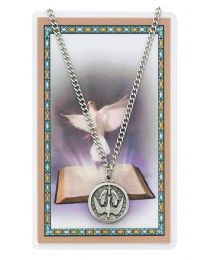 Holy Spirit Medal w/ Card