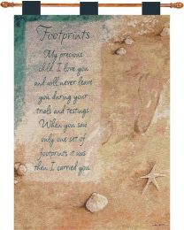 Footprints Tapestry
