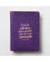 """I Can Do All This - Phil 4:13"" Journal"