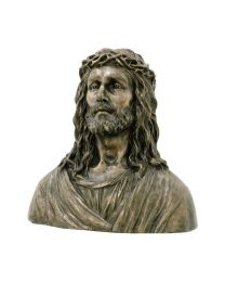 "16.9"" Crown of Thorns - Bronze Style Bust"