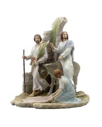 "13.5"" Jesus on Palm Sunday Statue"