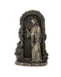 Jesus Standing at the Door - Bronze Style