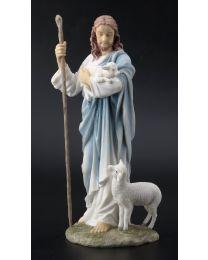 """11.25"""" Shepherd Jesus Statue"""
