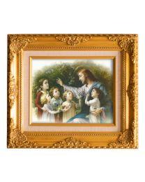 Jesus With Children Frame