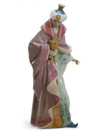 "13.7"" King Balthasar - Porcelain Statue"