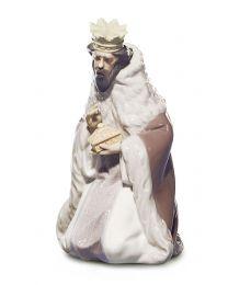 """9.4"""" King Gaspar - Porcelain Statue"""