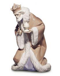 "9.4"" King Melchior - Porcelain Statue"