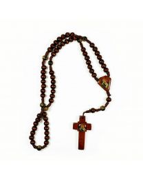 Knotted Wood St. Joseph Chaplet