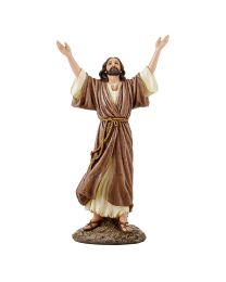 "9.25"" Let Go, Let God Jesus Statue"