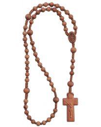 Light Jujube Wood Rosary