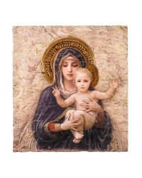 Madonna and Child Tile Plaque