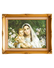 Madonna of the Lilies Frame