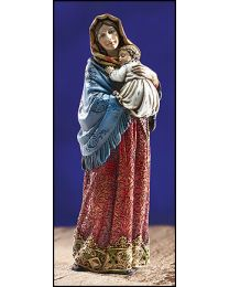"7.5"" Madonna of the Streets Statue"