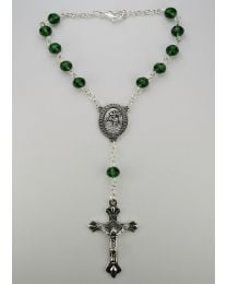 May-Emerald Auto Rosary
