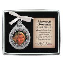Memorial Photo Ornament