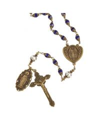Miraculous Medal Vintage Rosary