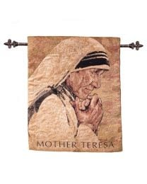 Mother Teresa Tapestry - Artist John Nava