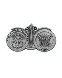 Navy Visor Clip