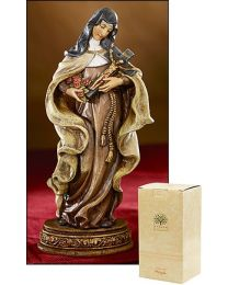 "6"" Saint Theresa Statue"