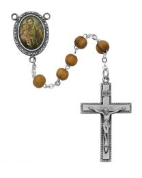 St. Joseph Olive Wood Rosary