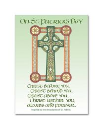 On St. Patrick's Day Greeting Card