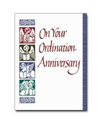 On Your Ordination Anniversary Card