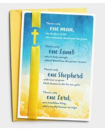 One Man, One Lord - Easter Greeting Card