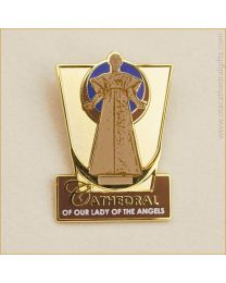 Our Lady Of The Angels Lapel Pin