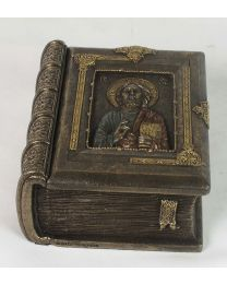 Christ Pantocrator Book Rosary Box