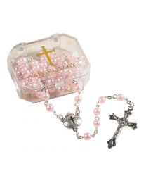 Baptism Pearl Rosary