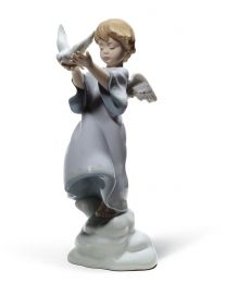 "10.25"" Peace on Earth - Porcelain Statue"