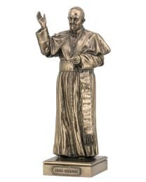 "11"" Pope Francis - Bronze Style Statue"