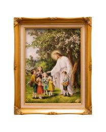 Jesus with Children Frame