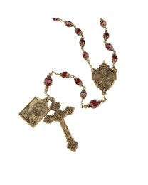 Sacred Heart Vintage Rosary