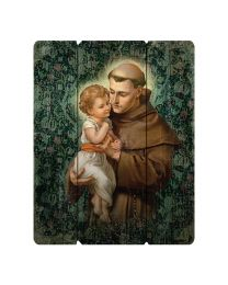 Saint Anthony Plaque