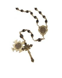 Saint Benedict Vintage Rosary