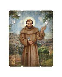 Saint Francis Plaque