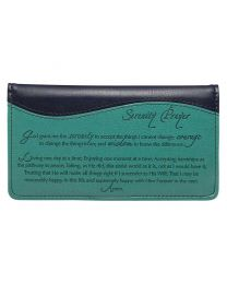 Serenity Prayer Checkbook Cover