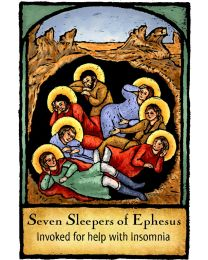 Seven Sleepers of Ephesus Magnet
