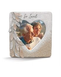 So Loved Heart Picture Frame