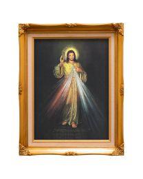 Divine Mercy in Spanish Frame