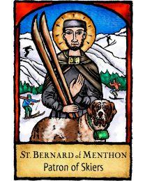 St Bernard Magnet