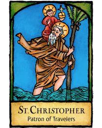 St Christopher Magnet