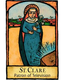 St Clare Magnet