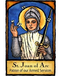 St Joan of Arc Magnet