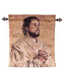 St Joseph Tapestry - Artist John Nava