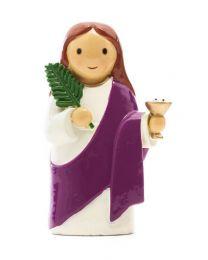 St. Lucy Mini Statue
