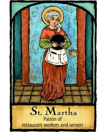 St Martha Magnet