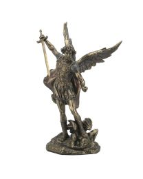 St. Michael with Sword Over Demon