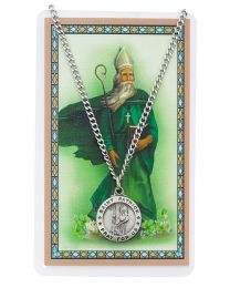 St. Patrick Medal / Card